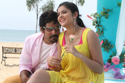 Vikram's movie Rajapattai new Stills