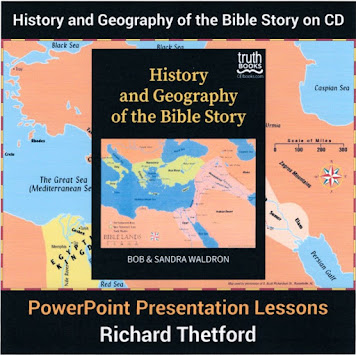 History and Geography of the Bible Story on CD