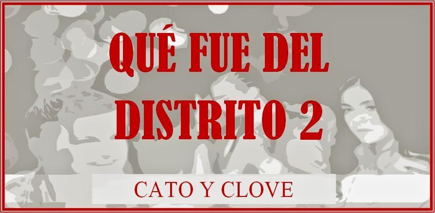 Qué fue del Distrito 2: Cato y Clove