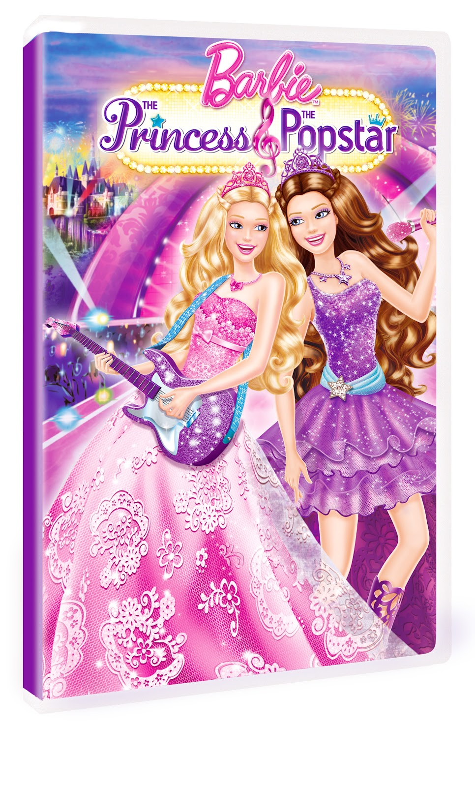 Barbie learn to be a princess dvd cover
