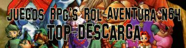Recopilación juegos RPG's, Rol-Aventura para Nintendo 64 roms n64