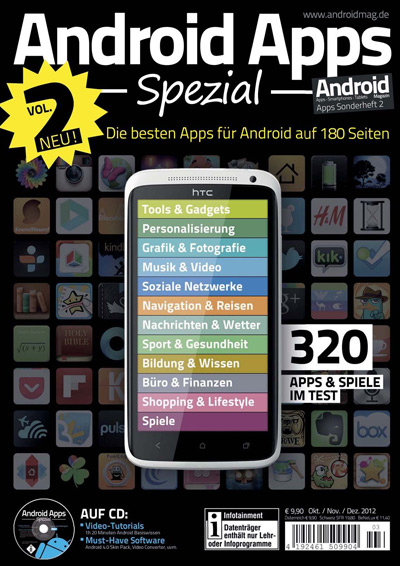 Android Apps Spezial 2 2012