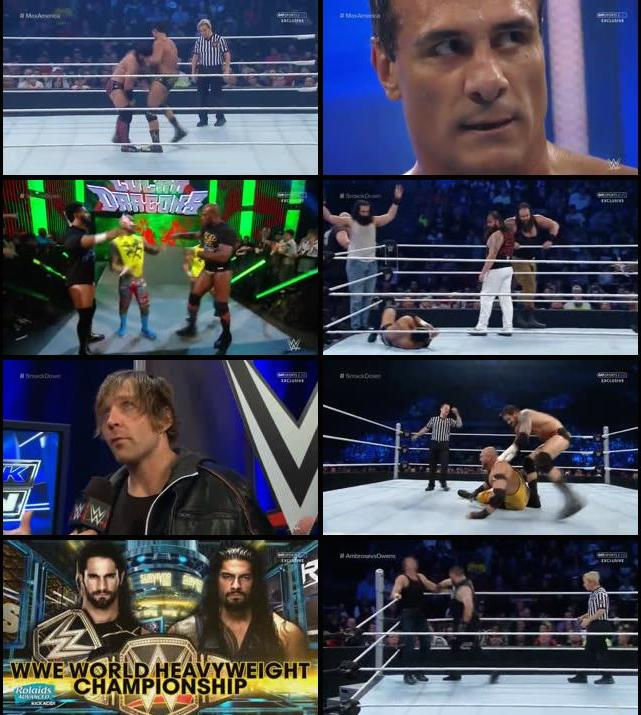 WWE Thursday Night Smackdown 05 Nov 2015 WEBRip 480p