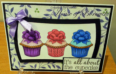 Diecut Divas, Doodle Pantry Yummy Cupcakes