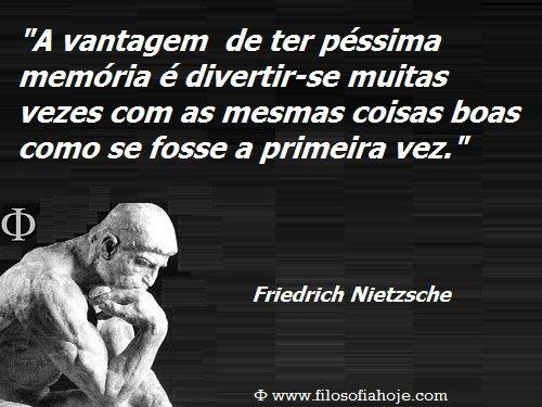 Filosofia Hoje Frases De Filosofia A Vantagem De Ter Péssima