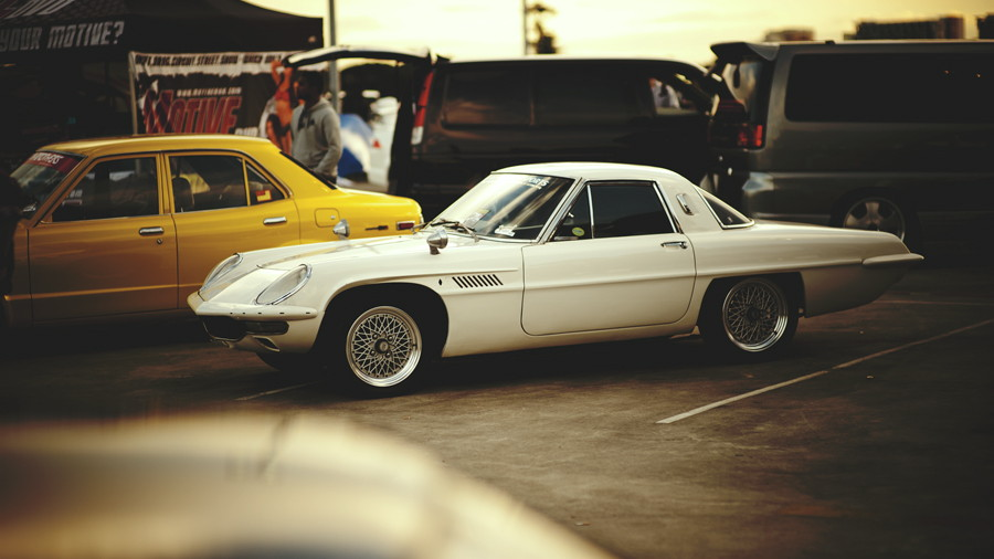 Mazda Cosmo Sport stary japoński samochód, klasyk