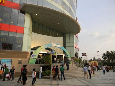 Bangalore shopping Meenakshi Mall Royal Mall