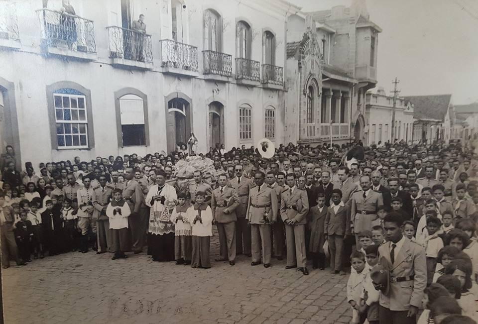 Foto no Largo do Rosário de Barbacena