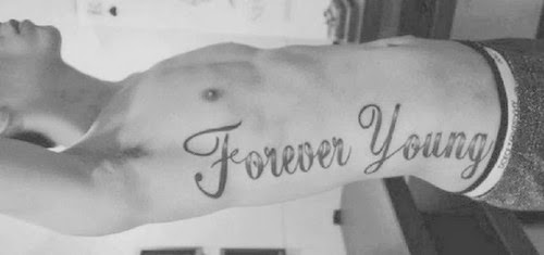 Mitattoo fotos de tatuajes tatuaje forever young for Forever young in japanese tattoo
