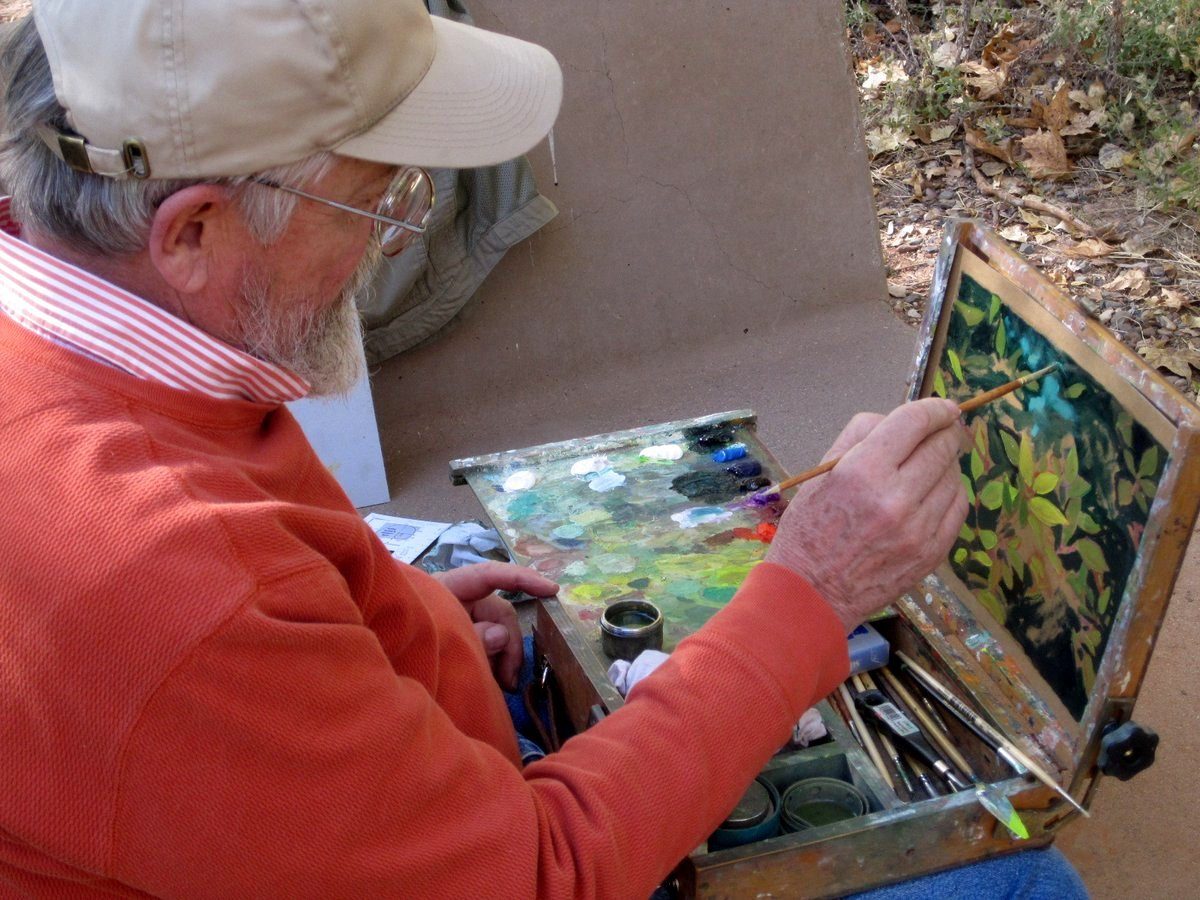 Image result for carl judson paints on Guerrilla Carton