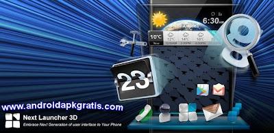 Next Launcher 3D v1.39 (1.39) APK Gratis