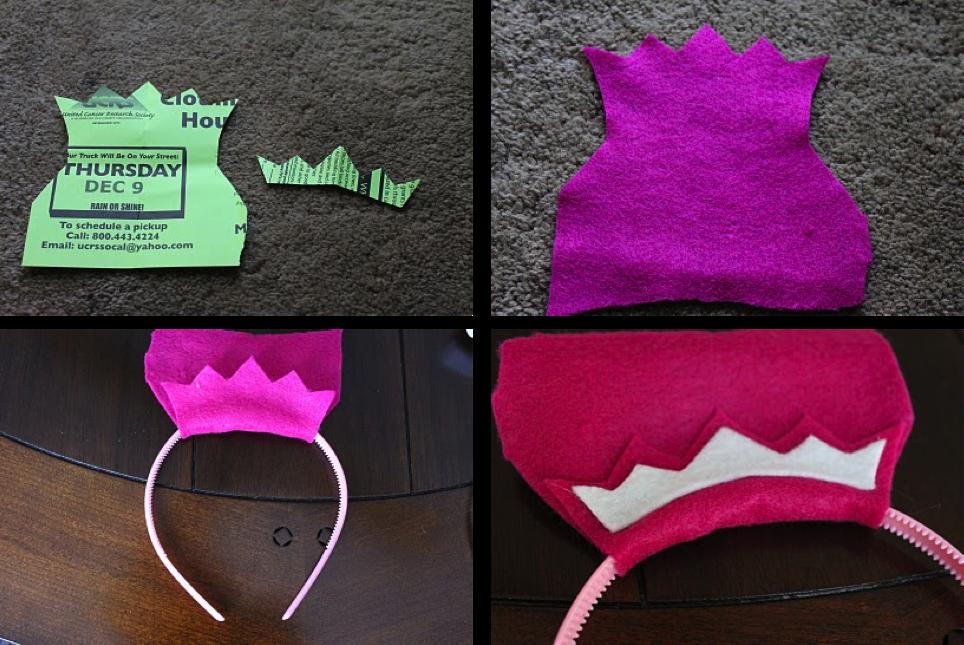 DIY coronas para una fiesta de princesas