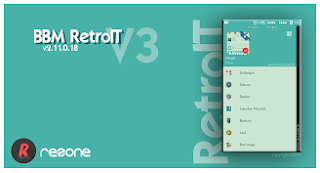 Screenshot BBM Mod RetroIT V3 Version 2.11.0.18 Apk