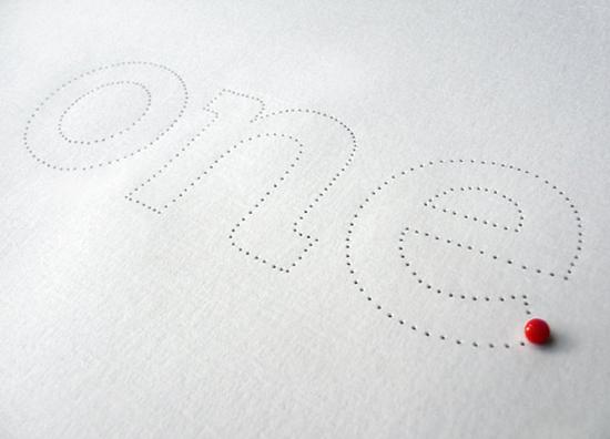 Dominique Falla - Tactile Typography