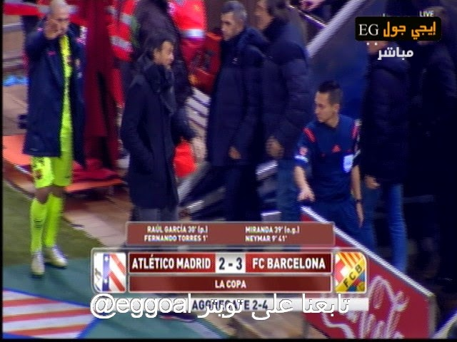 اهداف مباراة أتلتيكو مدريد و برشلونة 2-3   كأس ملك أسبانيا -     28-1-2015   Atletico Madrid vs Barcelona