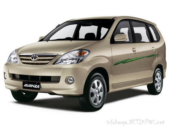 Mobil Toyota Avanza Spesifikasi dan Harga di atas adalah benar