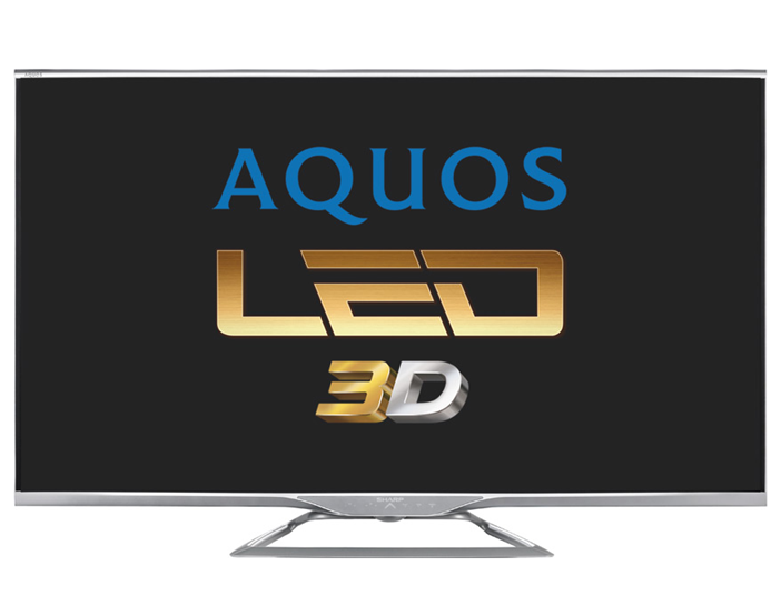 Sharp Aquos LE752V Dahili Uydulu Full HD 3D Smart LED TV