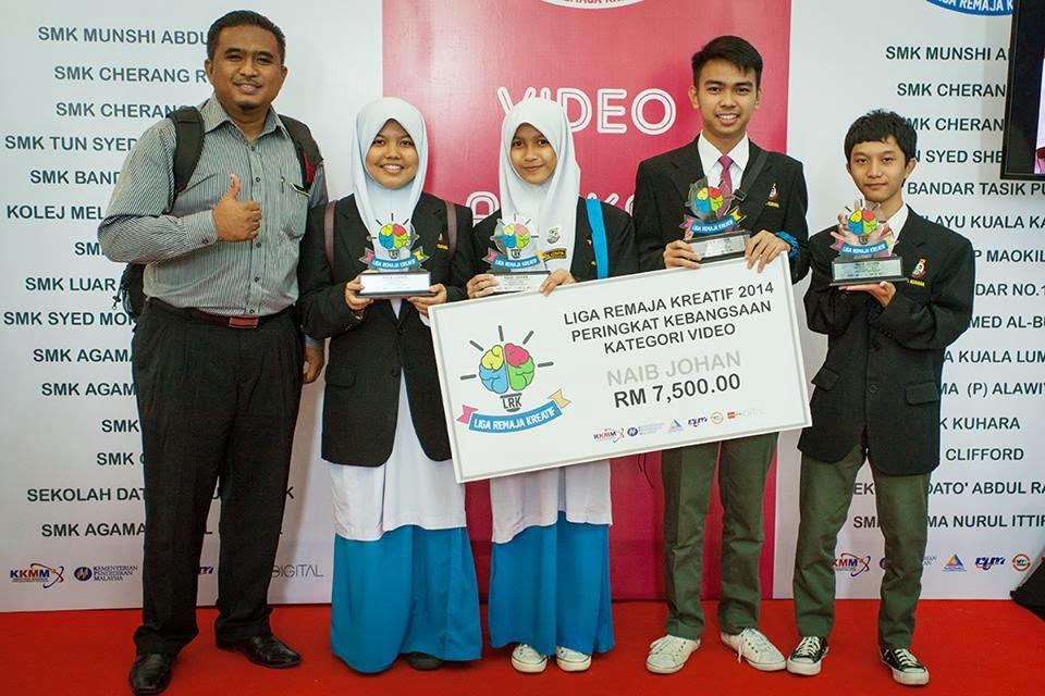 Pemenang Liga Remaja Kreatif 2014 : SMK Kuhara Sabah