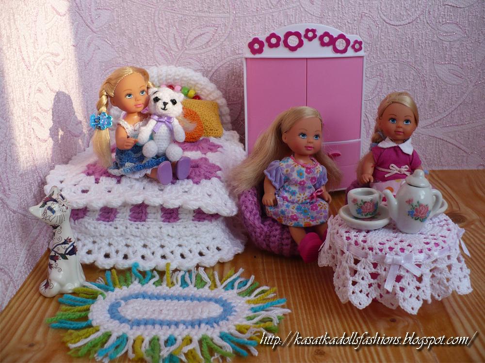 Домик для куклы своими руками из одной коробки 78