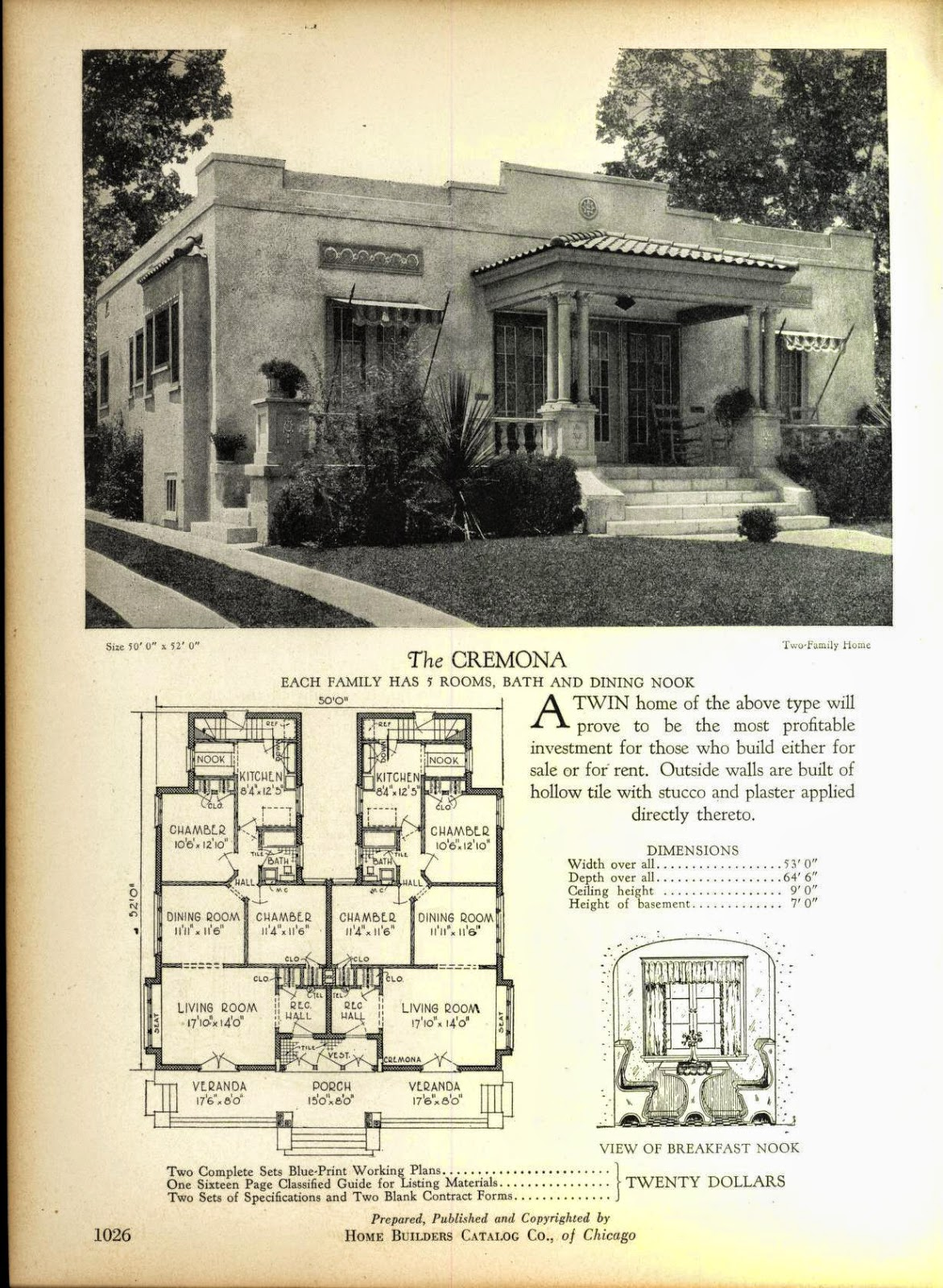 Even More Art Deco House Plans Art Deco Resource