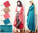 Baju Muslim Long Cardi Alzera GC1124
