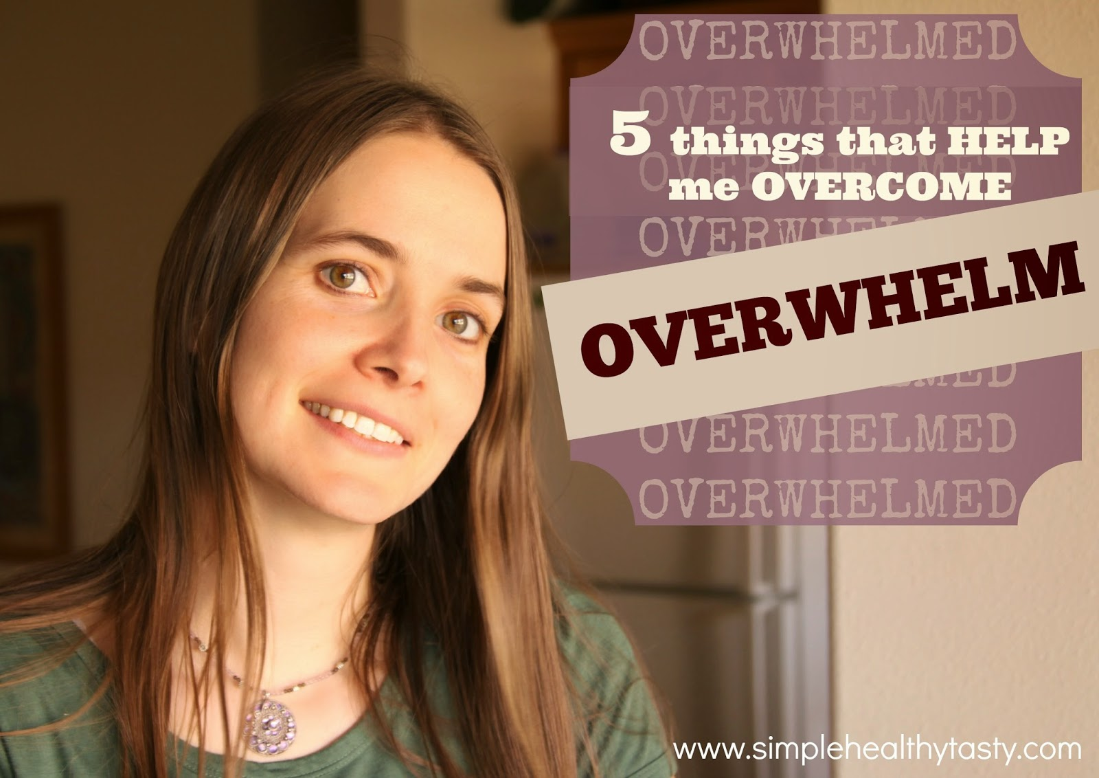 how to stop being so overwhelmed