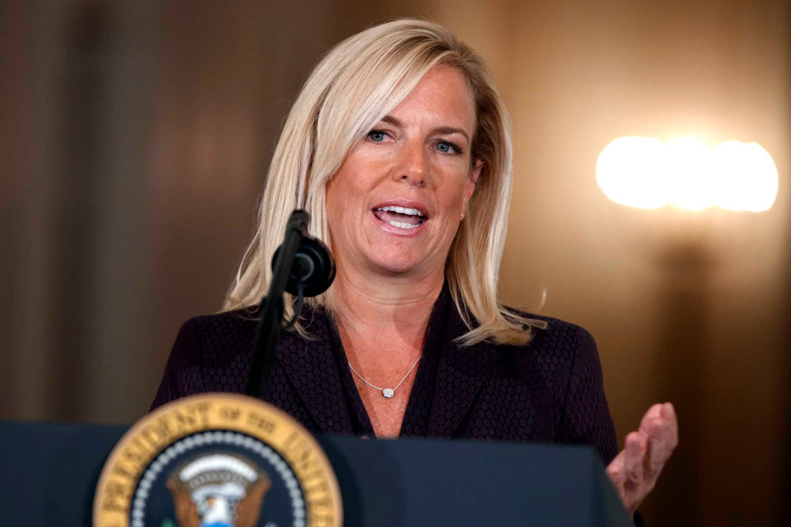 KIRSTJEN NIELSEN: NEW HOMELAND SECURITY SECRETARY NOMINEE.