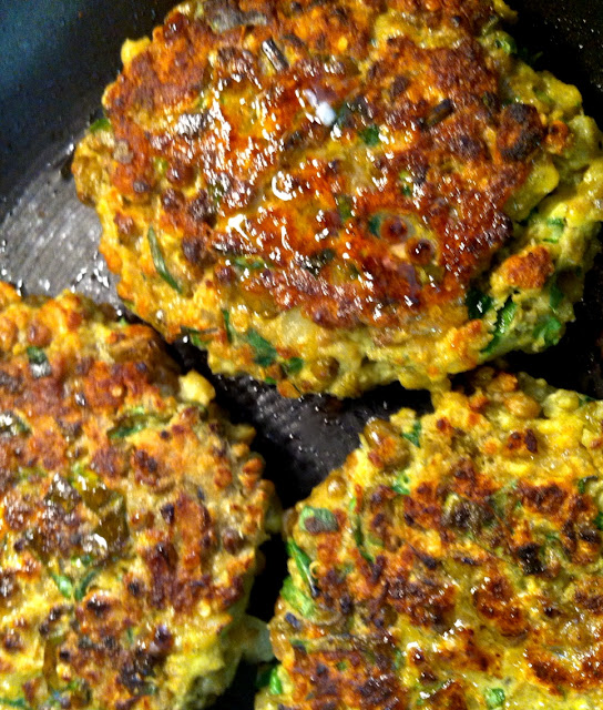 quinoa patties or cutlets