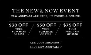 New Promo-Priced Items & Markdowns Plus Extra Savings...