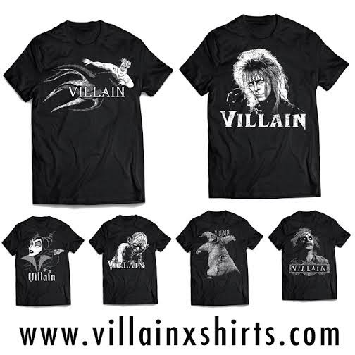 The Villain X Shirts T-Shirt Collection