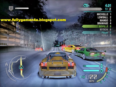 Download Free Need For Speed Game Carbon 100% Working game