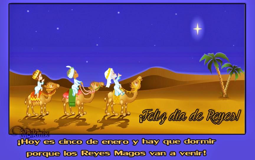 Día de Reyes | Para compartir, los reyes magos en el desierto