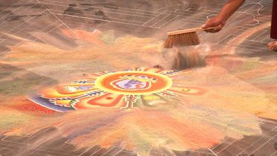 Chakrasamvara Mandala, Real Fiction Filmverleih, Ruhrtriennale, Bodensee Sandmandala,