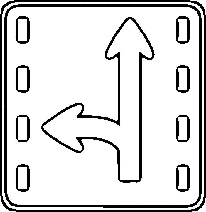 free road signs coloring pages - photo#19