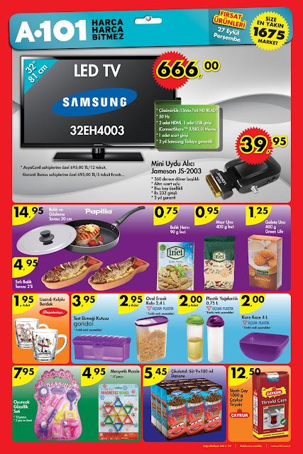 A101 27 eylül 2012 aktüel fırsat ürünleri 27 09 2012