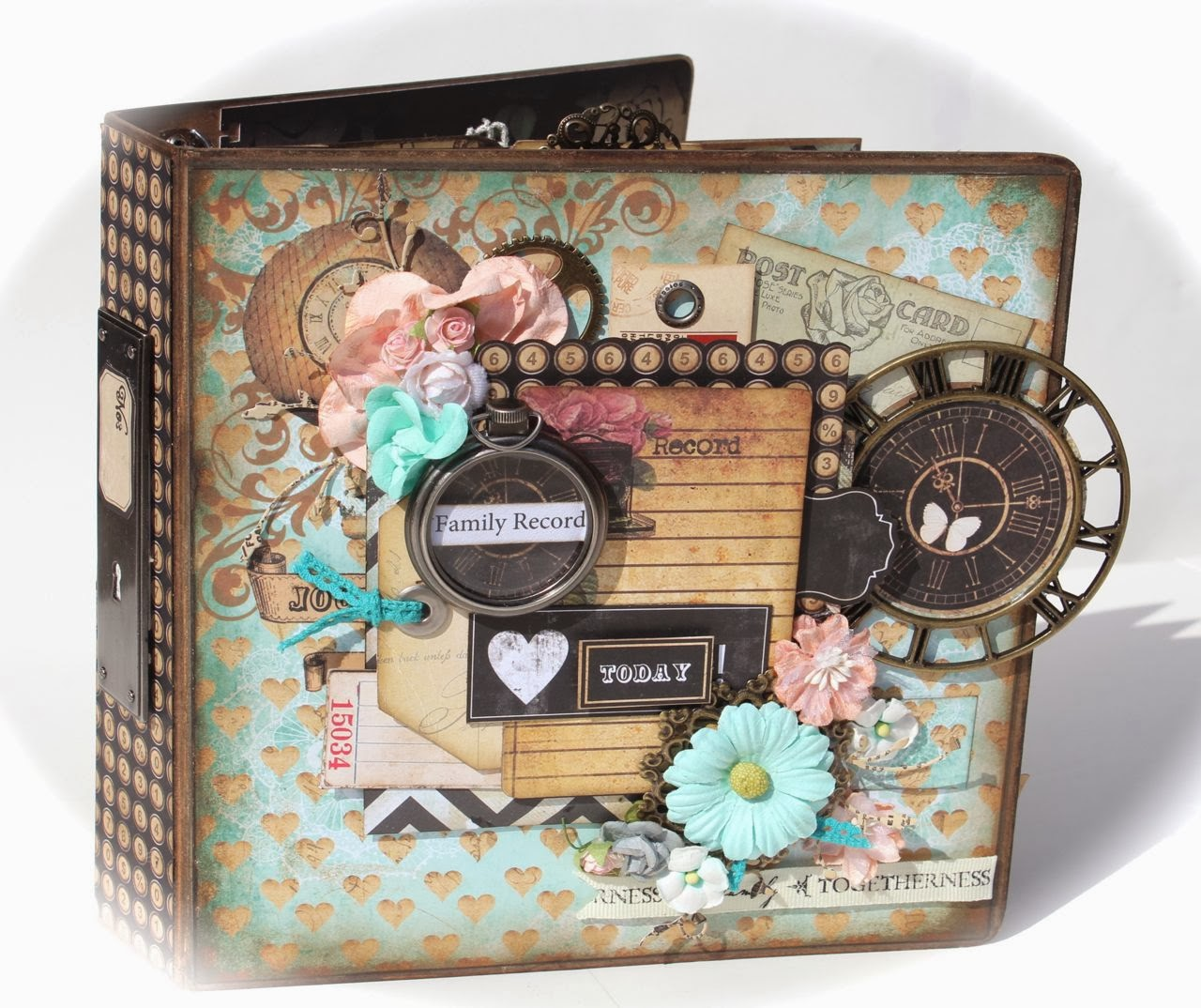 with a grin nirvana family record mini album scrapbooking mini album kit available. Black Bedroom Furniture Sets. Home Design Ideas