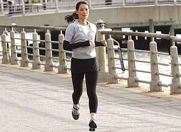 Haz ejercicio para mantenerte en forma