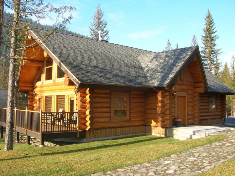 Log Cabin Plans And Small Log Homes