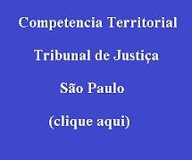 Competencia Territorial TJ SP