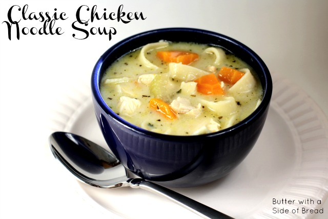 Classic {Easy!} Chicken Noodle Soup