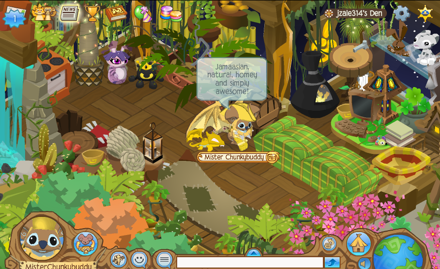 Animal Jam Christmas Gifts The Epic Den of the Month for