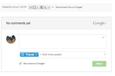 comentarios google+ en blogger