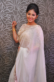 Anjali latest Glamorous pics in saree 021
