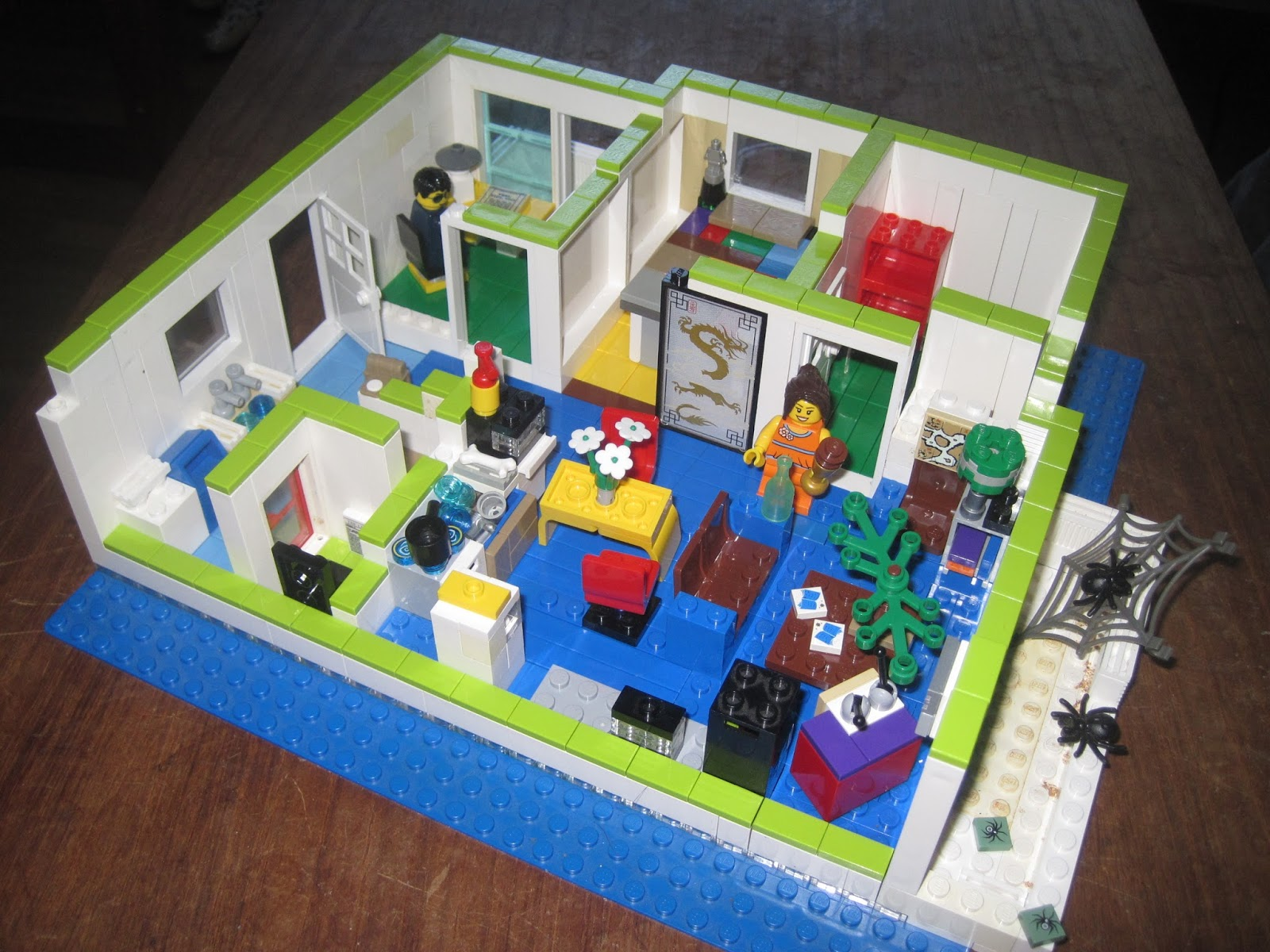 How To Build A Lego Apartment