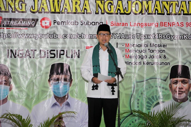 Tabligh Akbar HUT Ke-72 Kabupaten Subang