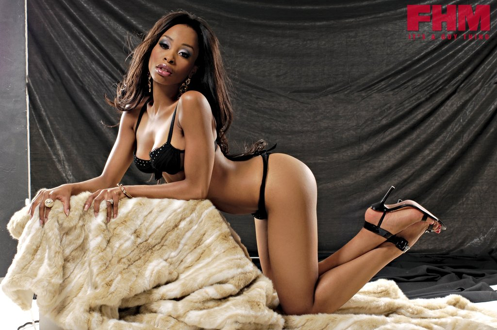 Khanyi mbau leaked naked photos causing an uproar in south africa
