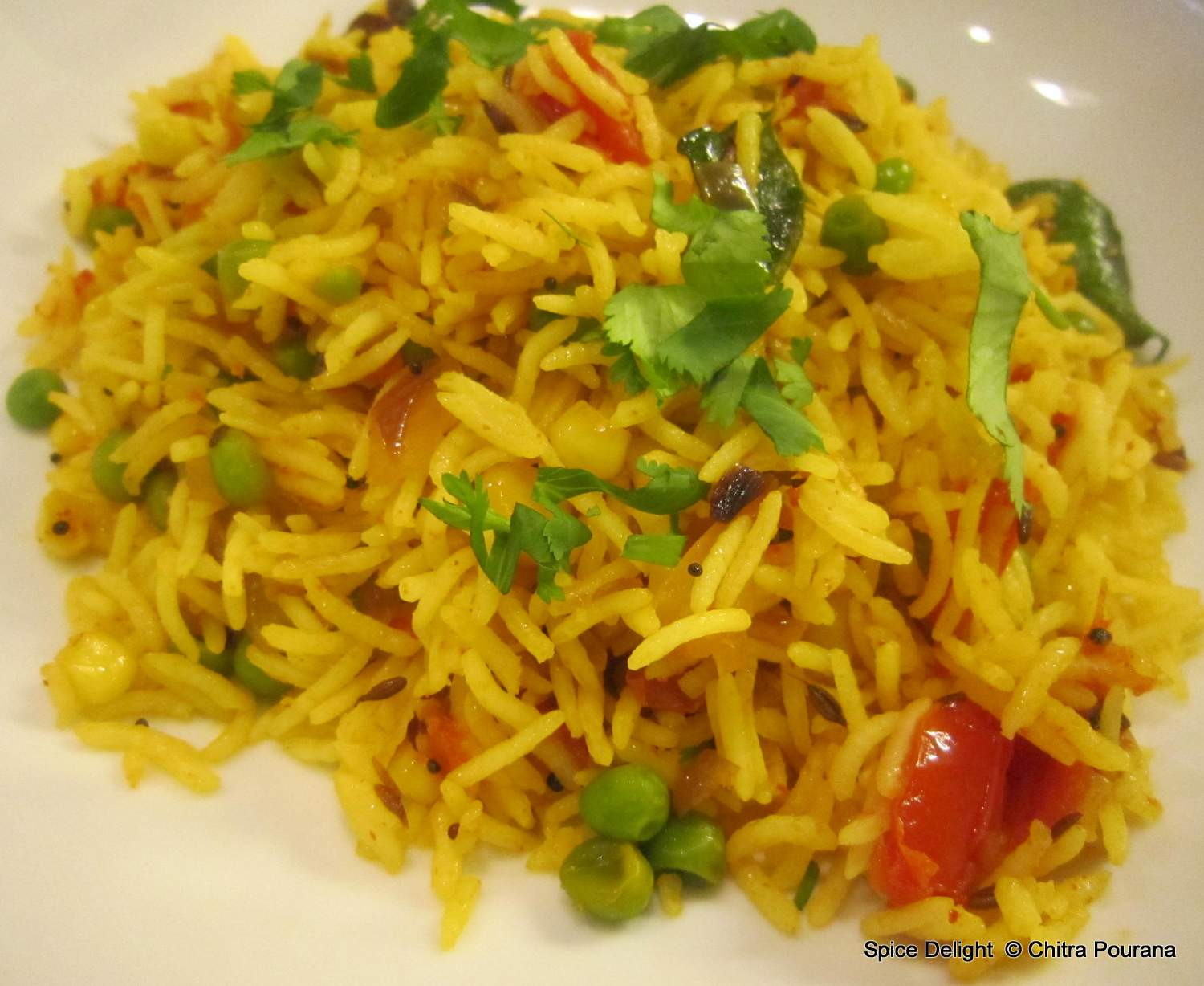 Spice Delight: Vegetable Pulao (Pilaf)