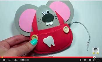 ratoncito guarda dientes en goma eva