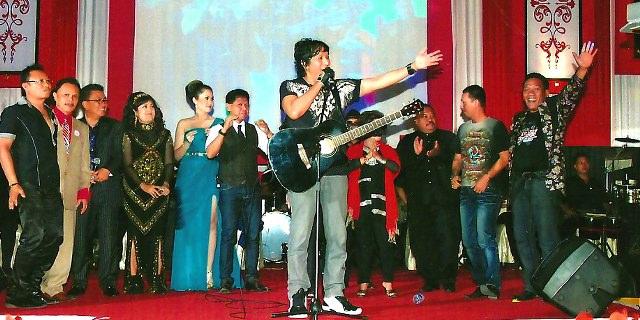 Ikang Fawzi dan Marissa Haque, di Medan, Nostalgia Medan, 2011