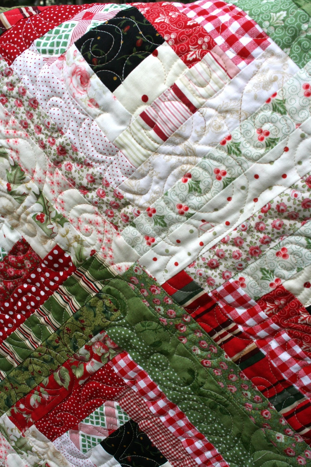 Sewn With Grace: Sewing Christmas : quilt for christmas - Adamdwight.com